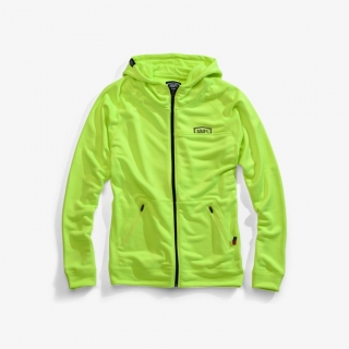 Mikina 100% Union Zip Flo Yellow