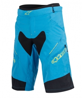 Kraťasy Alpinestars Drop 2 Blue Acid Yellow