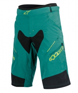 Kraťasy Alpinestars Drop 2 Teal Green Acid Yellow