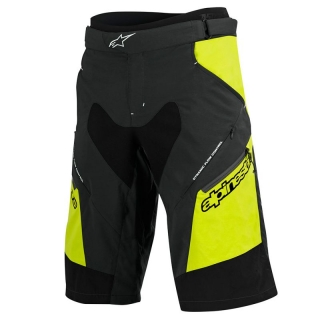 Kraťasy Alpinestars Drop 2 Black Acid Yellow