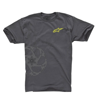 Tričko Alpinestars Spokes Tee - Dark Shadow