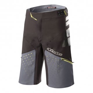Kraťasy Alpinestars Drop Pro Black Steel Grey