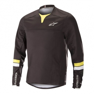 Dres Alpinestars Drop Pro L/S Black Acid Yellow