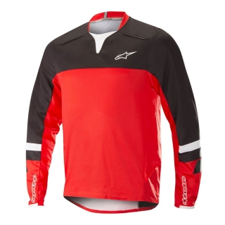 Dres Alpinestars Drop Pro L/S Black Red