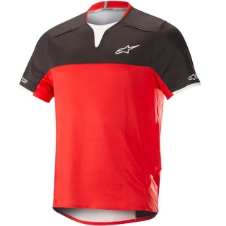 Dres Alpinestars Drop Pro S/S Black Red