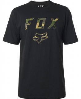 Tričko Fox Cyanide Squad SS Tech Tee Black