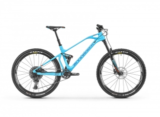 "2019 Bicykel Mondraker Foxy Carbon R  27,5"" light blue Navy orange"