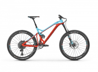 "2019 Bicykel Mondraker Dune R 27,5"" flame red  light blue"