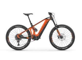 "2019 Elektrobicykel Mondraker Crusher R + 27,5"" orange Carbon"