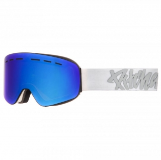 Snowbordové okuliare Pitcha XC3 White Full Revo Blue