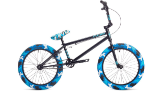 2019 BMX Stolen x Fiction Black - Blue Camo