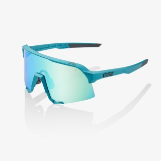 Okuliare 100% S3 Peter Sagan LE Blue Topaz Multilayer Mirror Lens