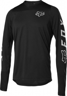 Dres Fox Defend Ls Jersey Black