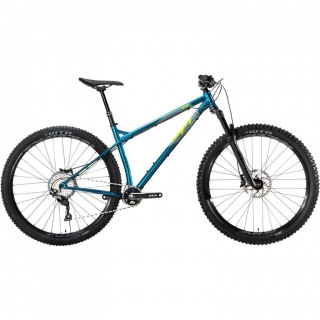 2019 Bicykel Ragley Big Wig Hardtail Gloss Blue-Grey-Lime
