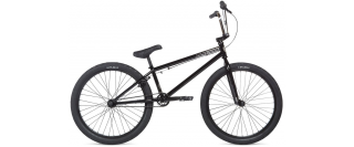 "2020 BMX Stolen Saint 24""  Black Chrome"
