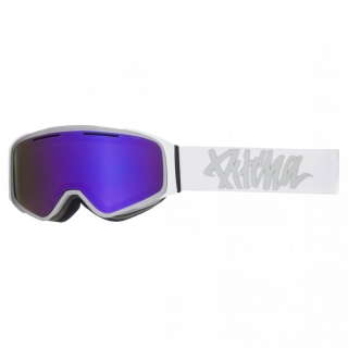 Snowbordové okuliare Pitcha W1 White Grey Full Revo Purple