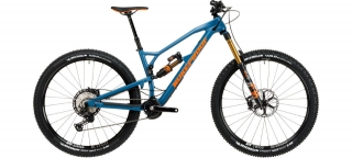 2020 Bicykel Nukeproof Mega 290 Factory Blue-Orange