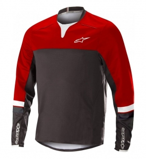 Dres Alpinestars Drop Pro L/S Red Black