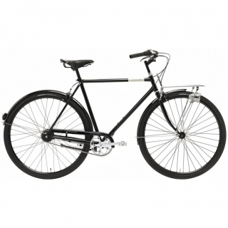 Creme CafeRacer Doppio Mens 7 Speed Bike 2015 Black