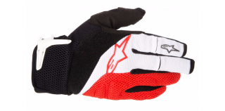 Rukavice Alpinestars Moab White Black Red