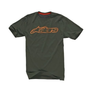 Alpinestars Blaze 2 Tech Tee Ride Dry - Military Green Melange O