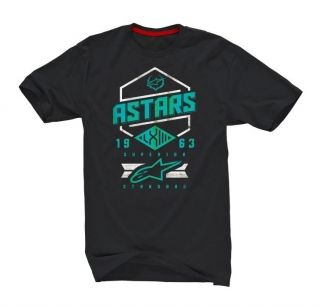 Alpinestars HEX Tech Tee Ride Dry - Black Aqua