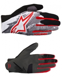 Rukavice Alpinestars Aero Red Black White