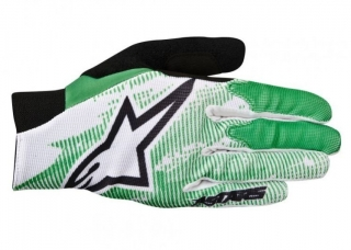 Rukavice Alpinestars Aero Bright green