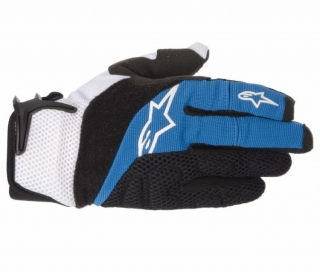 Rukavice Alpinestars Moab Blue Black White