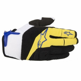 Rukavice Alpinestars Moab Yellow Blue