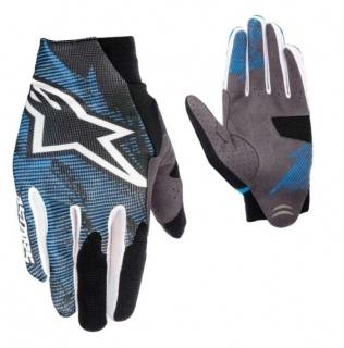 Rukavice Alpinestars Aero Blue White