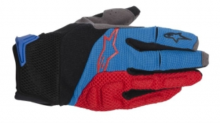 Rukavice Alpinestars Moab Red Blue