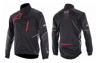 Bunda Alpinestars Sirocco Jacket Black Red