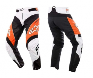 Nohavice Alpinestars A-Line Orange/Black