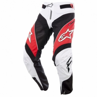 Nohavice Alpinestars A-Line Red/Black