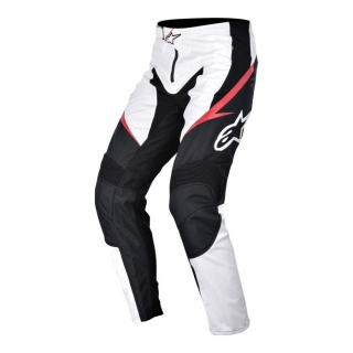 Nohavice Alpinestars Sight White/Black/Red