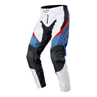 Nohavice Alpinestars Sight White/Red/Blue