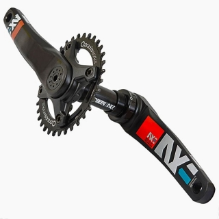 Kľuky DMR Bikes AXE Black 165mm