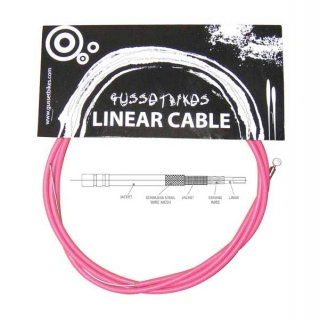 Gusset XL linear cable růžový