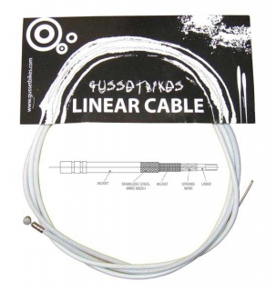 Gusset XL linear cable bílý
