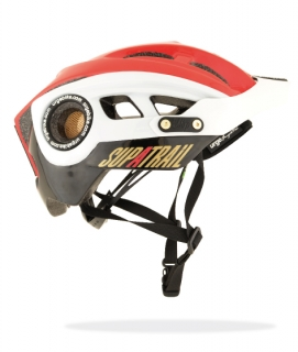 URGE SupaTrail helma - Black/red